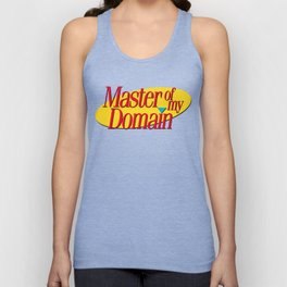 Master of my domain Unisex Tank Top