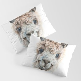 Llama Latte Pillow Sham