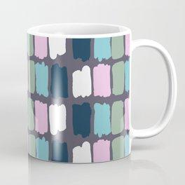 Modern mauve purple watercolor brushstrokes palette Coffee Mug