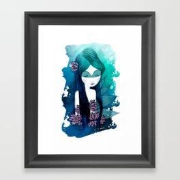 Indian Loto Framed Art Print