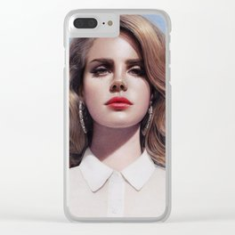 Lana - Born To Die Clear iPhone Case