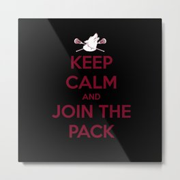 "Teen Wolf-""Join the Pack"" Metal Print"