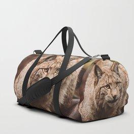 Bob Cat Duffle Bag