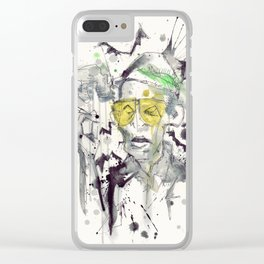 Hunter S Clear iPhone Case