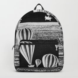 BETWEEN TWO WORLDS B/W Backpack