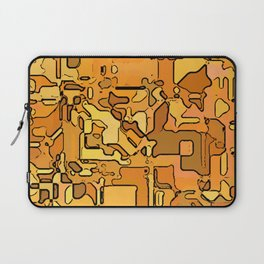Abstract segmented 5 Laptop Sleeve