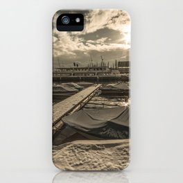 Cold Boats iPhone Case