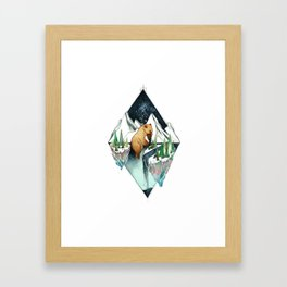brother bear Framed Art Print
