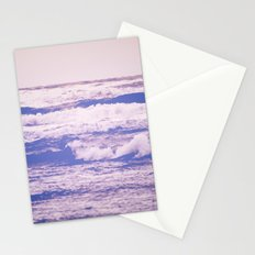 Ocean Waves - Vintage Blue Sea in California Stationery Cards