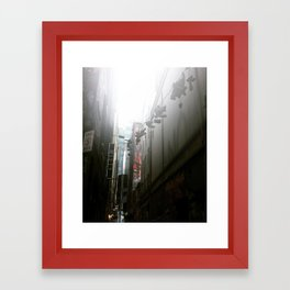 Laneways Framed Art Print