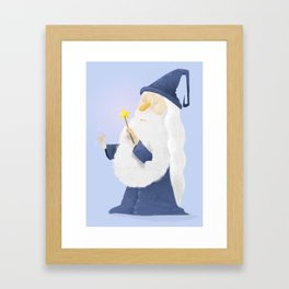 El Mago Framed Art Print