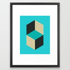 CUBES (7) Framed Art Print