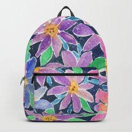 Floral grandient Backpack