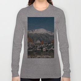 Snowy Mountain Tops Long Sleeve T-shirt