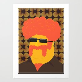Dr. Joe Dynamo Art Print