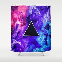 Black Hole Trinity Shower Curtain