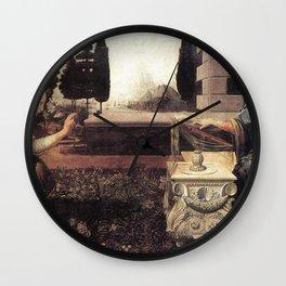 Angelic - Leonardo Da Vinci Wall Clock