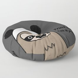Sloth says trust me, I'm a panda Floor Pillow
