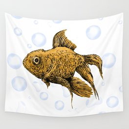Goldfish Wall Tapestry