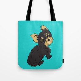 A Bossy Yorkie Tote Bag