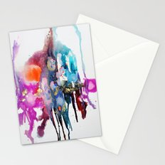 alive and walking (abstract) Stationery Cards