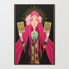 ☽ Oracle ☾ Canvas Print