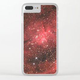 The Heart Nebula Clear iPhone Case