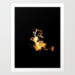 Light of the night Art Print