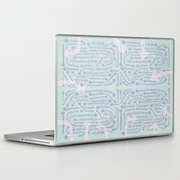 cycle Laptop & iPad Skins featuring Cycle by Lillian Cassidy