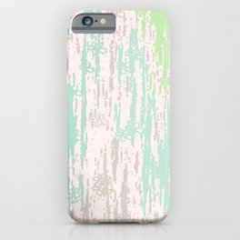 Green grey Colors Gradient pattern. pastel, modern, minimal, minimalist, line, stripes. iPhone Case