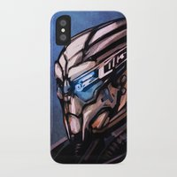 garrus iPhone & iPod Cases featuring Garrus by Vaahlkult