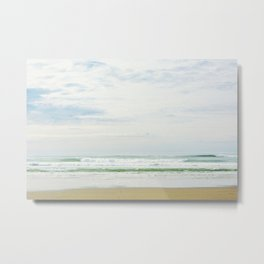 The Sea In Pastels Metal Print