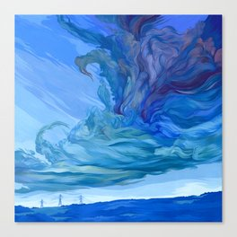 Clouds 5 Canvas Print