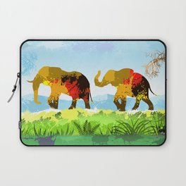 Walk With Me Laptop Sleeve