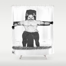 Scare Crow Shower Curtain