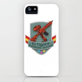 El Tigre's Paintball School iPhone Case