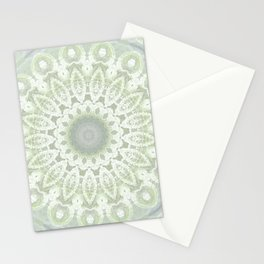 open snowflake Stationery Cards