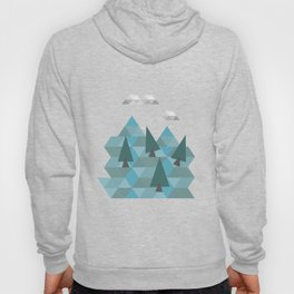 Low poly land Hoody