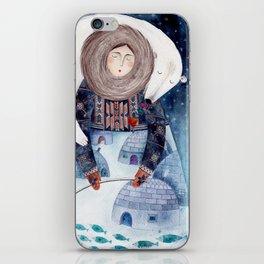 eskimo iPhone Skin