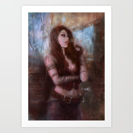 Xarles Art Print