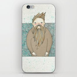 The Man Who Miss Summer iPhone Skin