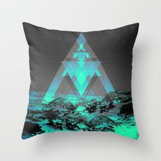 Neither Real Nor Imaginary II Throw Pillow