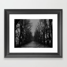 The Shortcut Framed Art Print