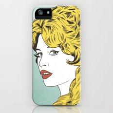 Blonde Bombshell Slim Case iPhone (5, 5s)