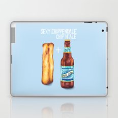 Food Pun - Sexy Chip 'N' Ale Laptop & iPad Skin