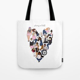 Strong as Hell Tote Bag