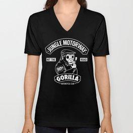 Gorilla Motorcycle Club Unisex V-Neck