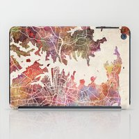 sydney iPad Cases featuring Sydney by MapMapMaps.Watercolors
