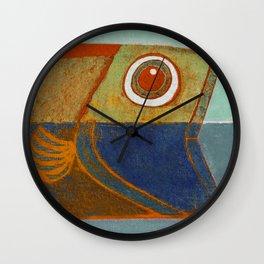 Cabeça de Peixe Wall Clock