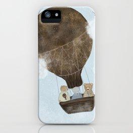 a teddy bear adventure iPhone Case